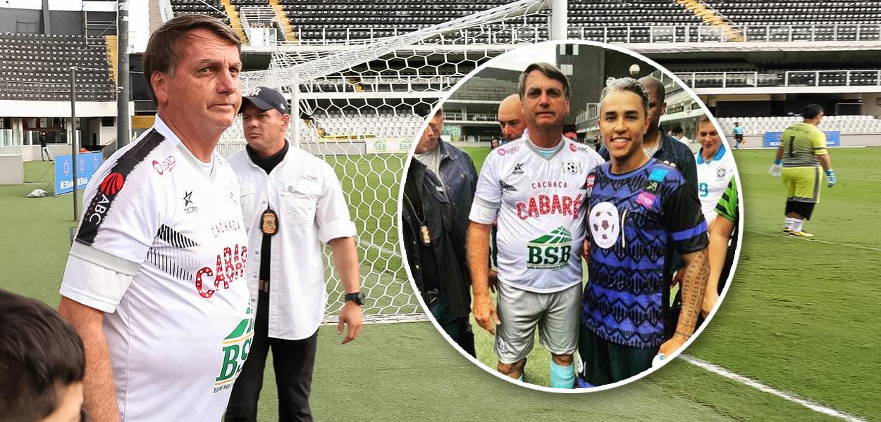 Bolsonaro e Fred