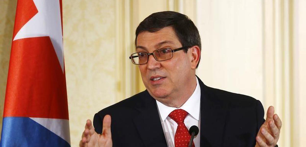 O chanceler de Cuba, Bruno Rodríguez