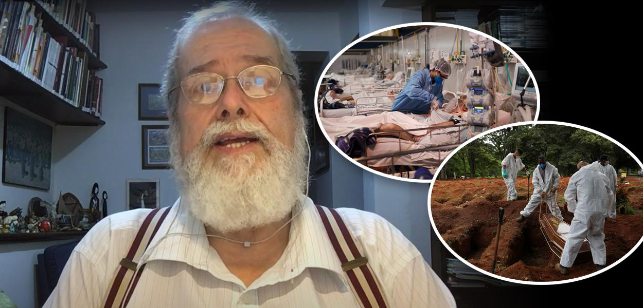 Gonzalo Vecina Neto, pessoas no hospital em tratamento e cemitério