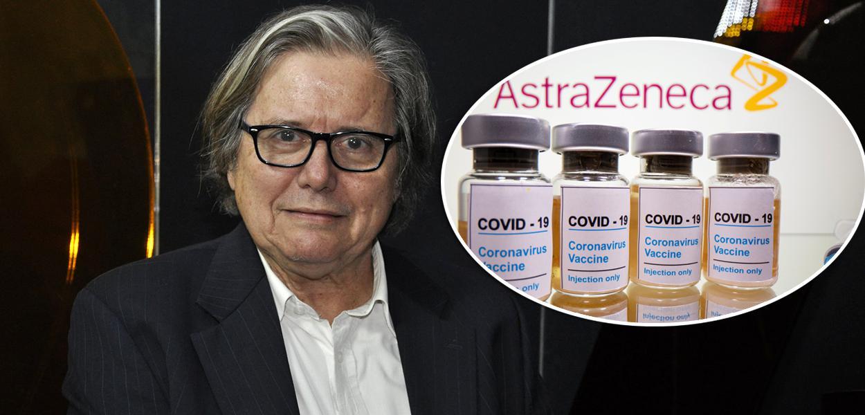 Paulo Moreira Leite e vacina AstraZeneca