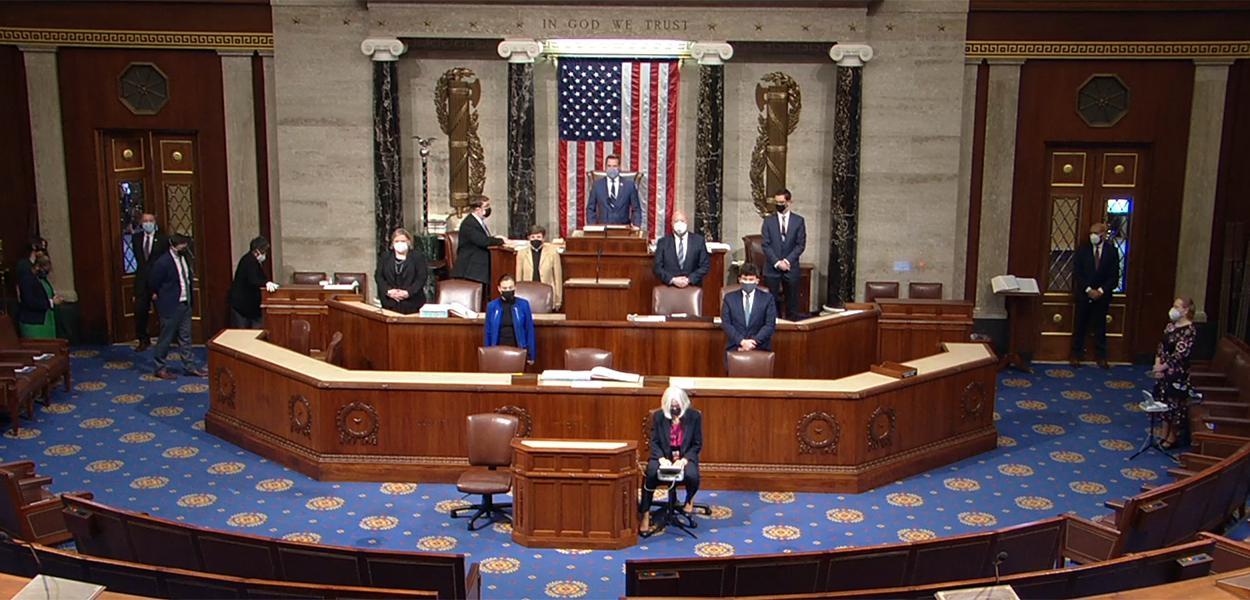 Sessão no Congresso dos Estados Unidos, o Capitólio