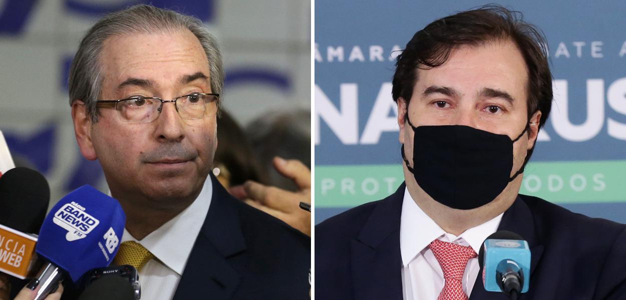 Eduardo Cunha e Rodrigo Maia
