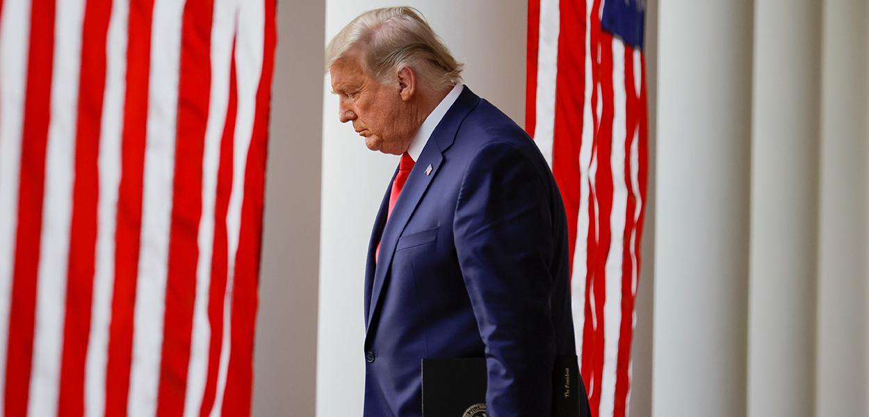 Donald Trump, na Casa Branca