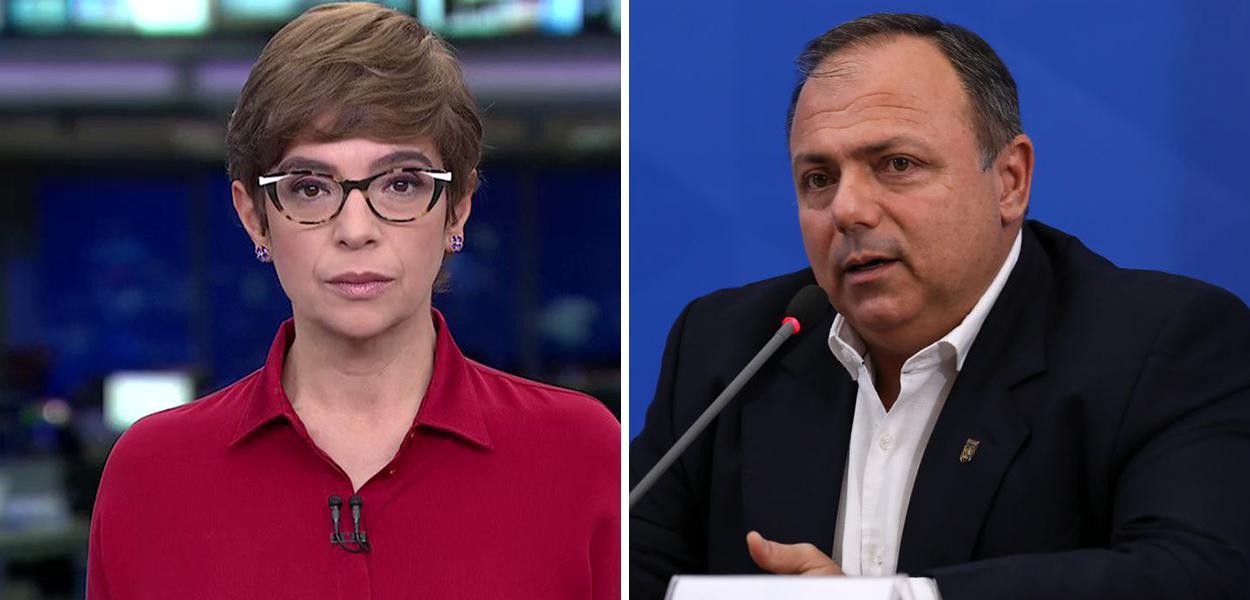 Renata Lo Prete e Eduardo Pazuello