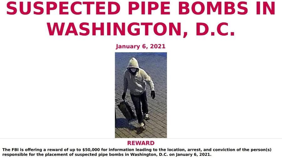 FBI quer ajuda para encontrar suspeito de colocar bombas em sedes de partidos