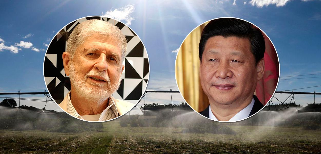 Celso Amorim e Xi Jinping