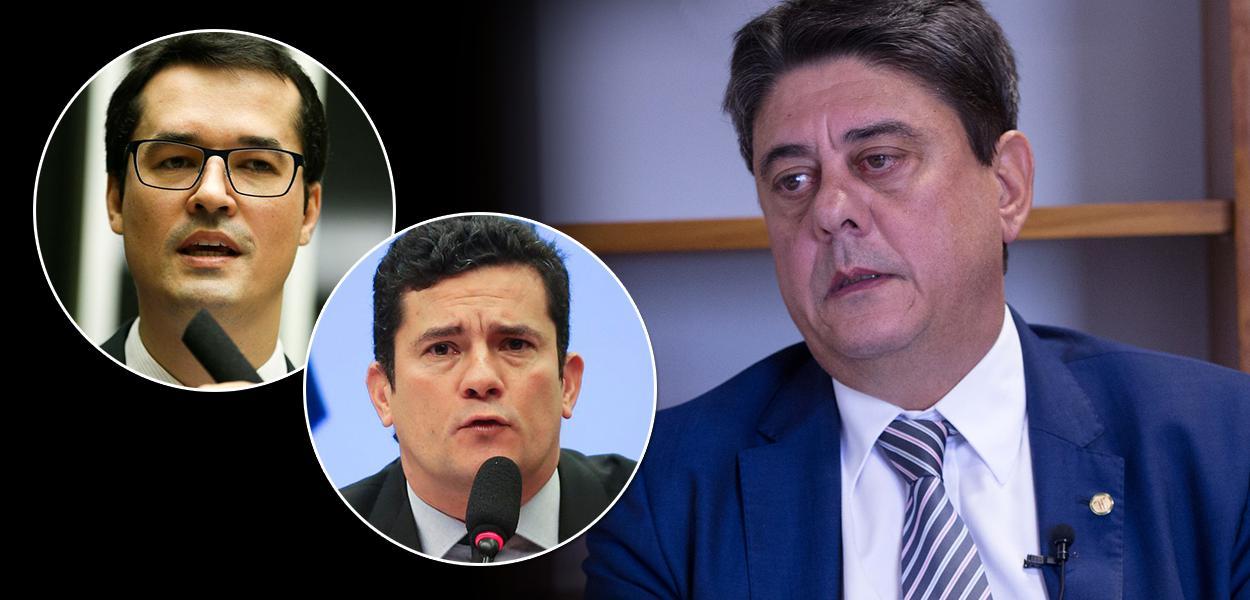 Deltan Dallagnol, Sergio Moro e Wadih Damous