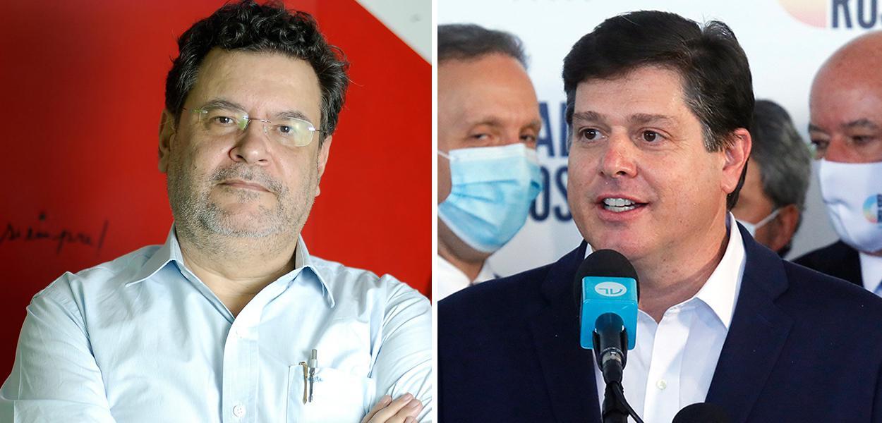 Rui Costa Pimenta e Baleia Rossi