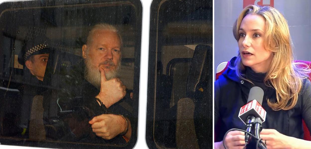 Julian Assange e Carol Proner