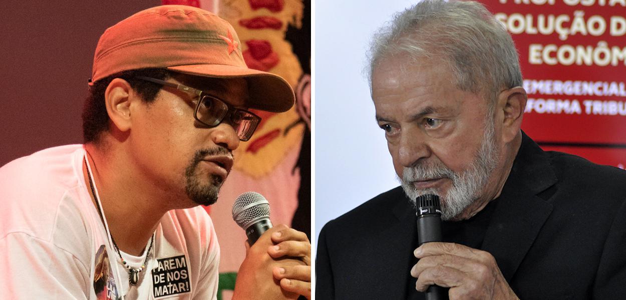 André Constantine e Lula