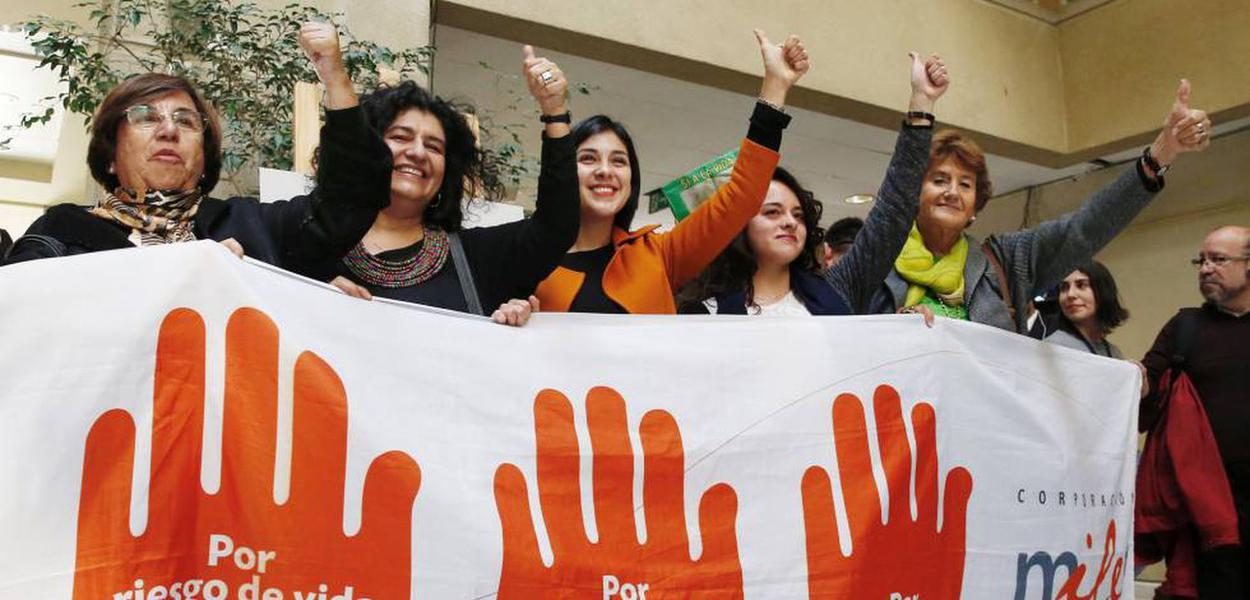 Luta pela legalização do aborto no Chile