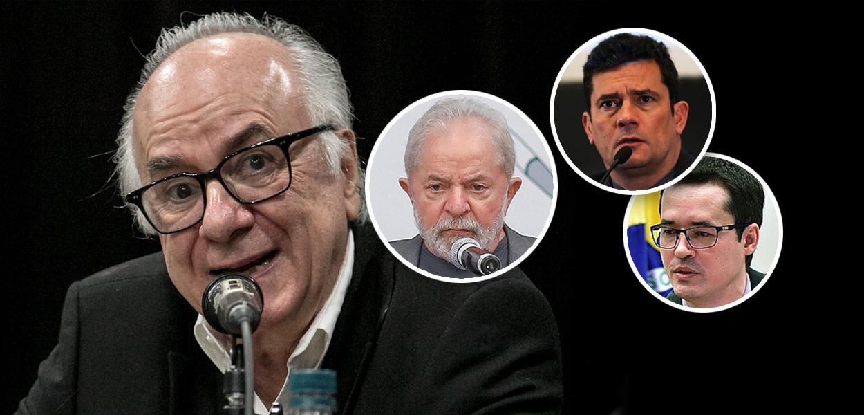 Boaventura de Sousa Santos e Deltan Dallagnol