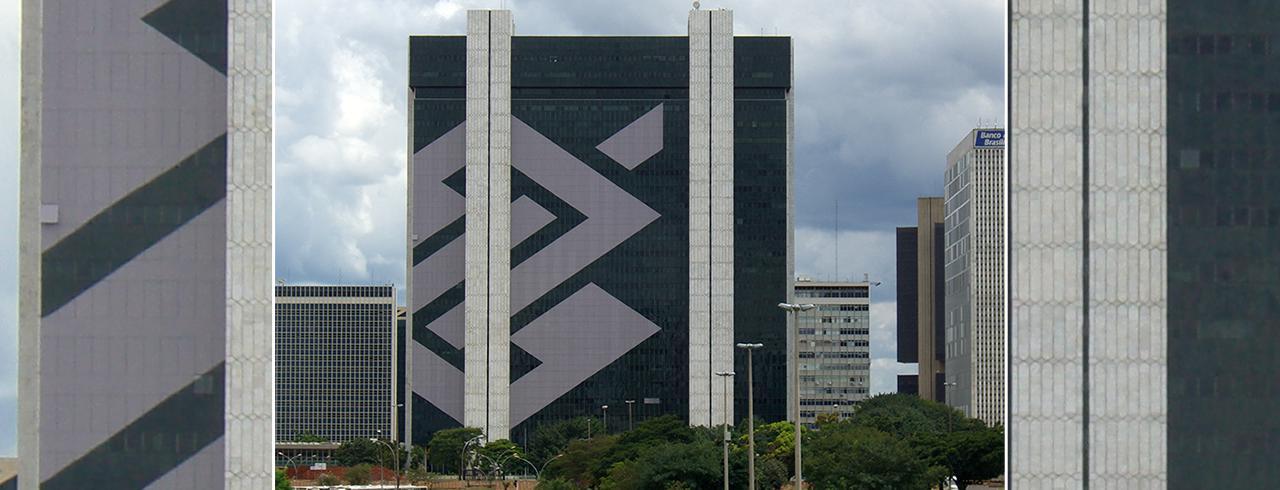 Edifício sede do Banco do Brasil, em Brasília