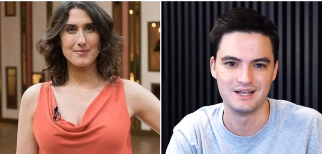 Paola Carosella e Felipe Neto