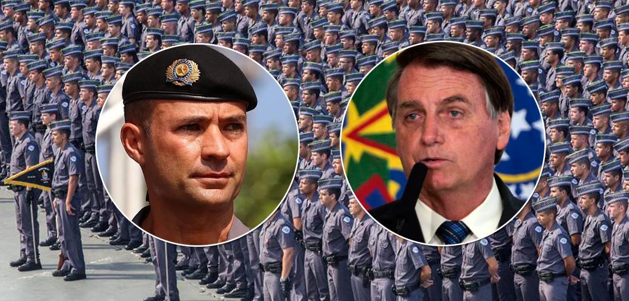 Coronel Ricardo Mello Araujo, indicado por Jair Bolsonaro para a Companhia de Entrepostos e Armazéns Gerais de São Paulo (Ceagesp)