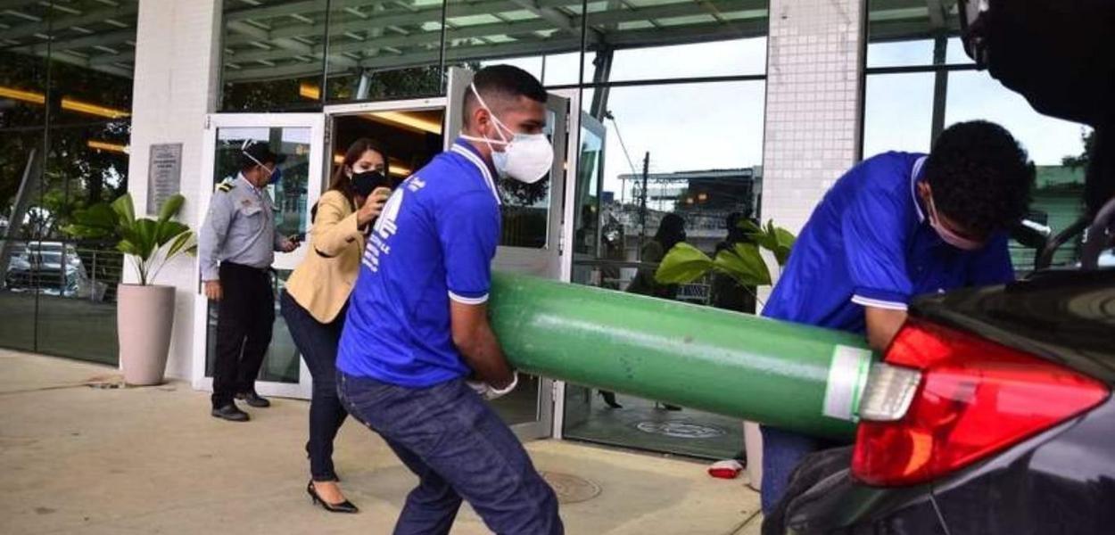 Falta de oxigênio em Manaus
