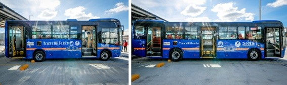 BYD vende 1.002 ônibus elétricos para a Colômbia