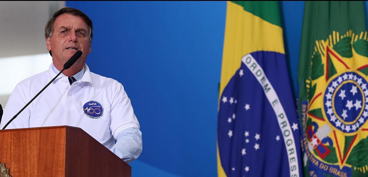 Palavras do Presidente da República, Jair Bolsonaro. 12/01/2021