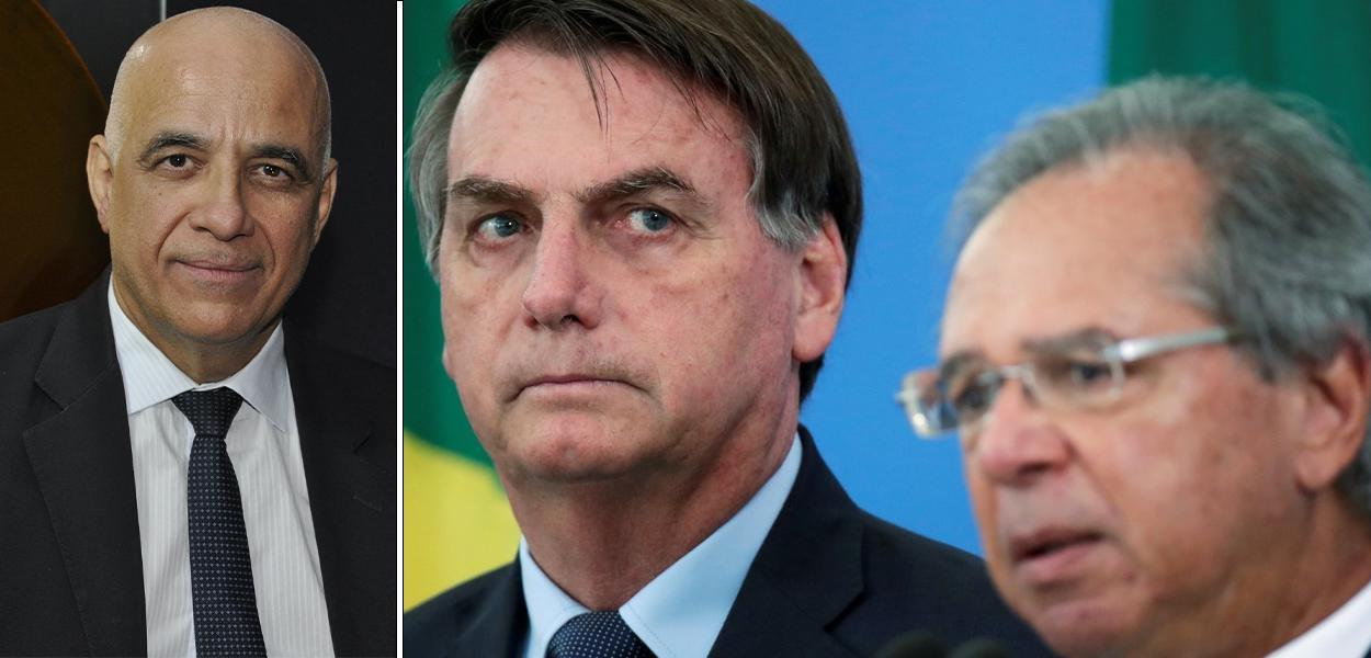 Jessé Souza, Jair Bolsonaro e Paulo Guedes