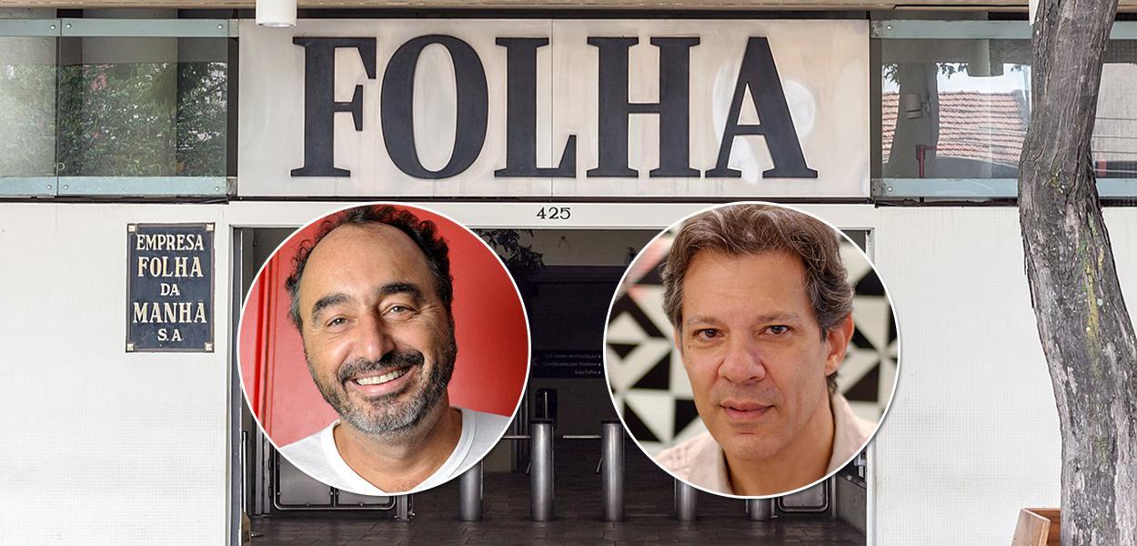 Renato Rovai e Fernando Haddad