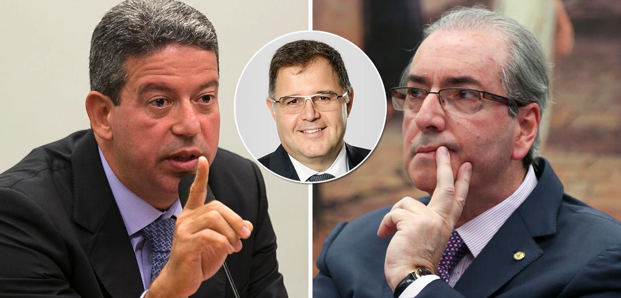 Arthur Lira, Luís Costa Pinto e Eduardo Cunha