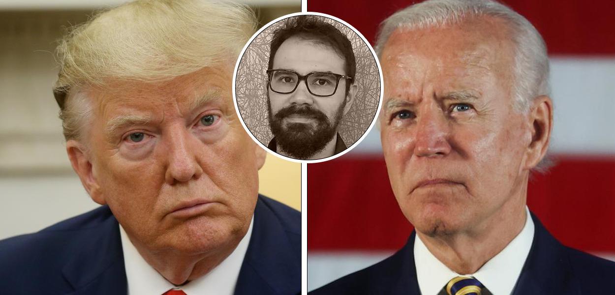 Donald Trump, Luiz Felipe Osório e Joe Biden
