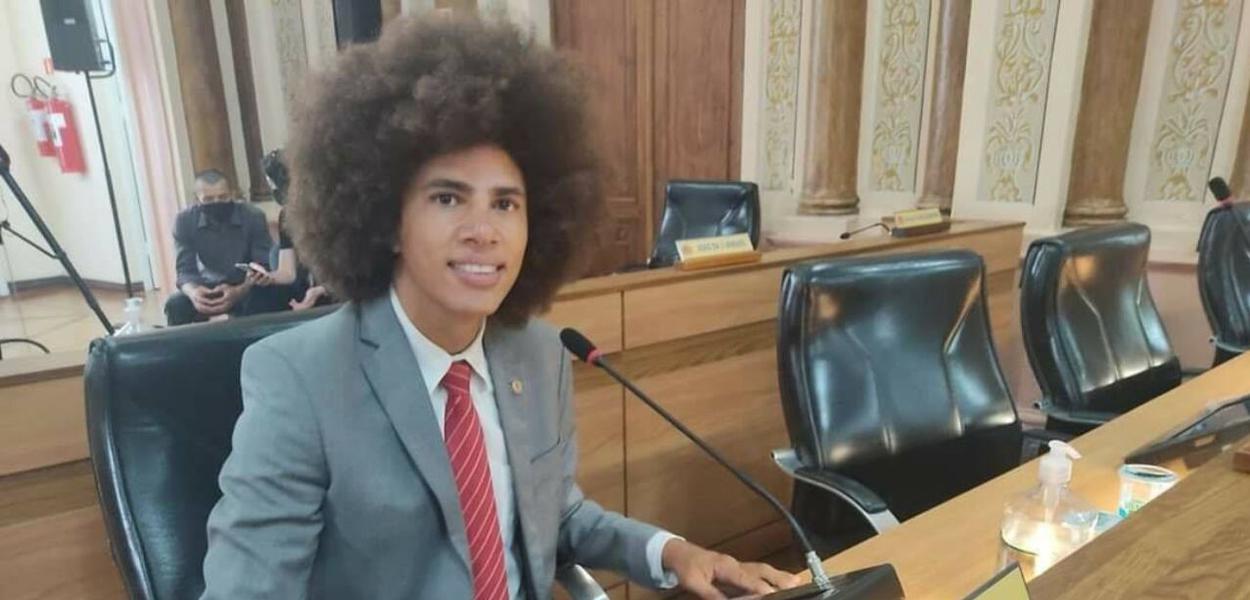 Renato Freitas, vereador do PT em Curitiba