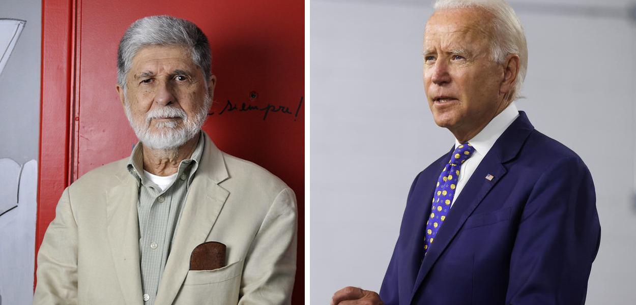 Celso Amorim e Joe Biden