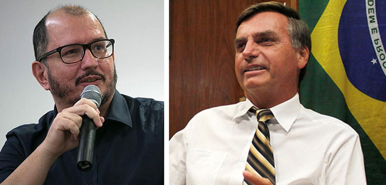 Celso Rocha de Barros e Jair Bolsonaro