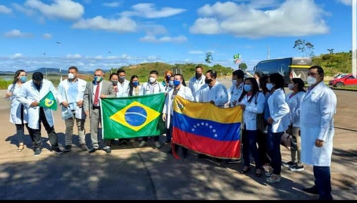 Médicos da Brigada Simón Bolívar