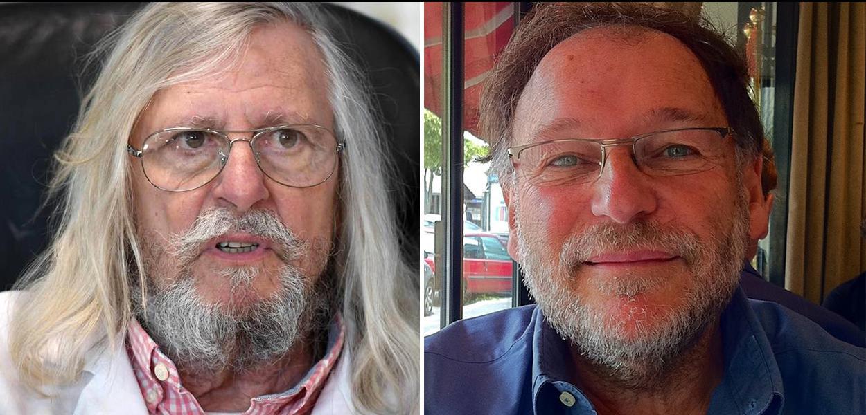Didier Raoult e Milton Blay
