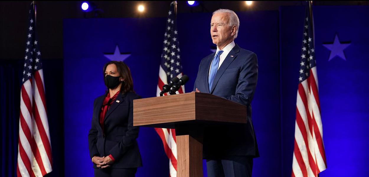 Kamala Harris e Biden