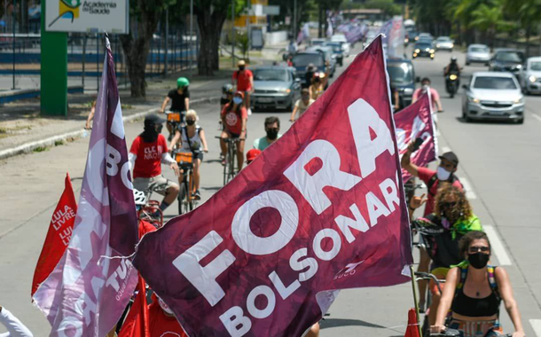 Carreata Fora Bolsonaro em Recife
