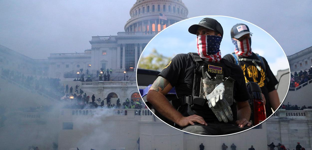 Grupo extremista americano Proud Boys