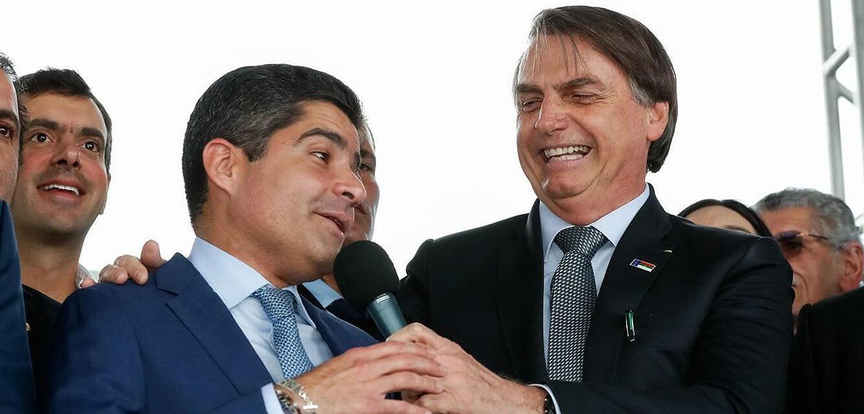 ACM Neto e Bolsonaro