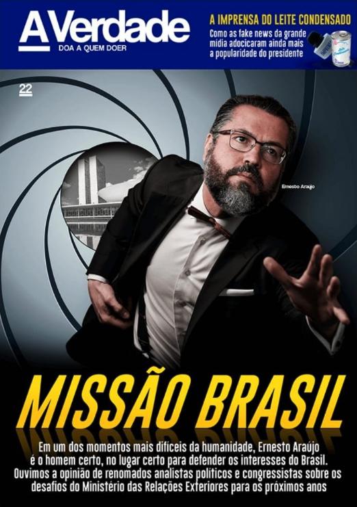 Ernesto Araújo James Bond 007
