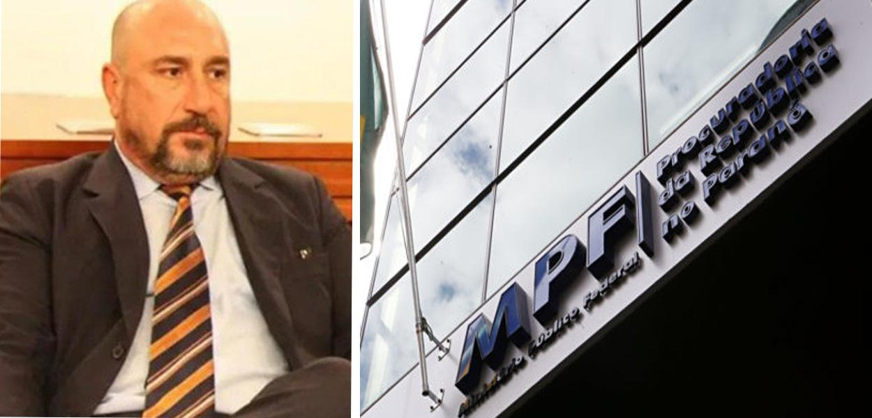Procurador Januário Paludo e o MPF-PR, onde fica a sede da extinta Lava Jato