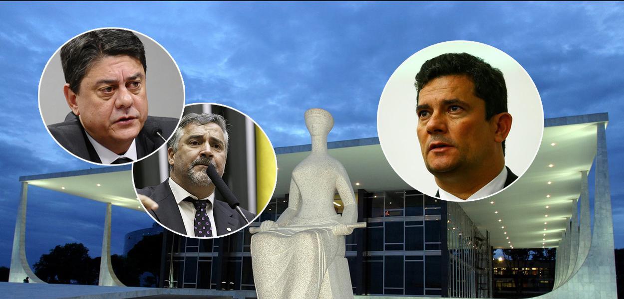 Paulo Pimenta, Sérgio Moro e Deltan Dallagnol
