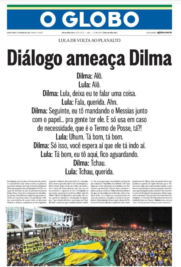 Capa O Globo