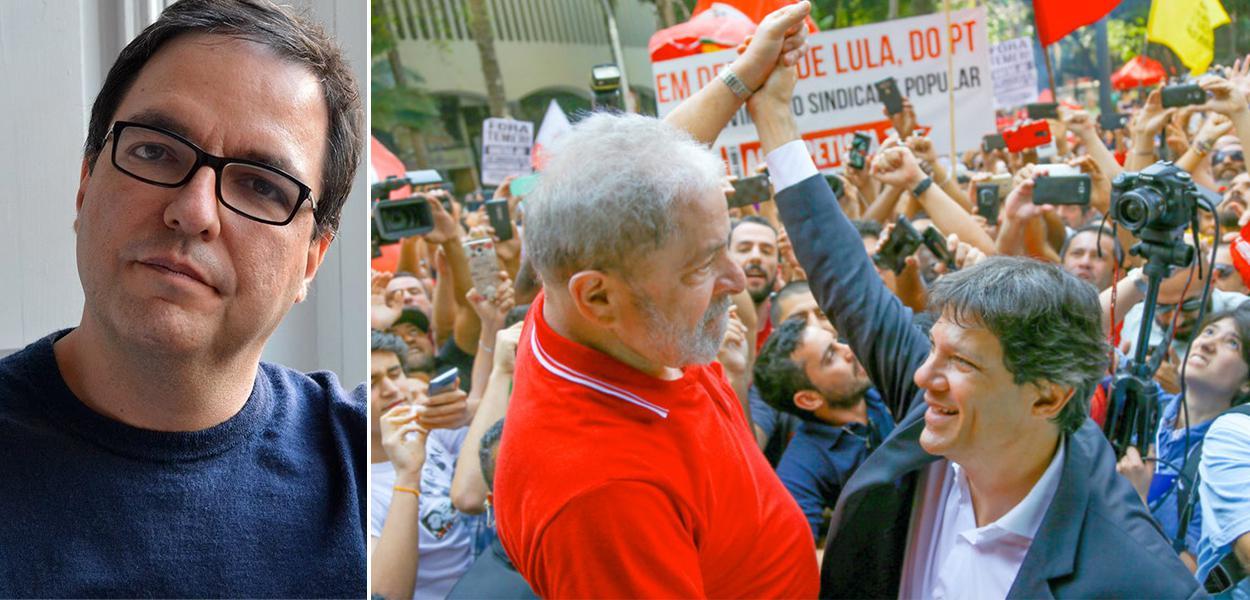 Luis Felipe Miguel, Lula e Fernando Haddad