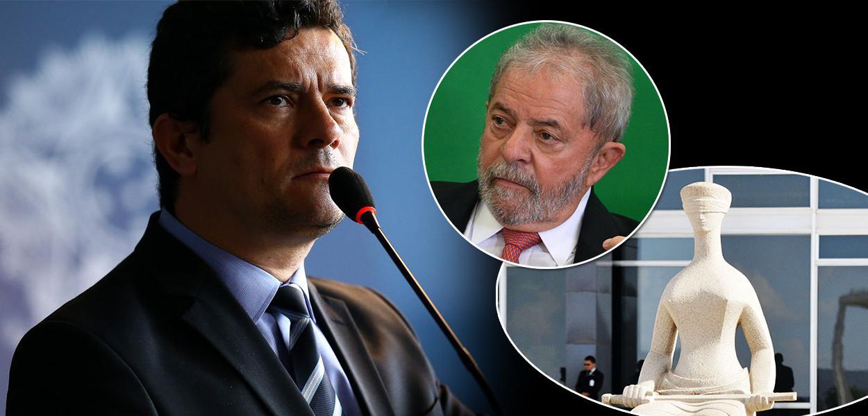 Sérgio Moro, ex-presidente Lula e o STF