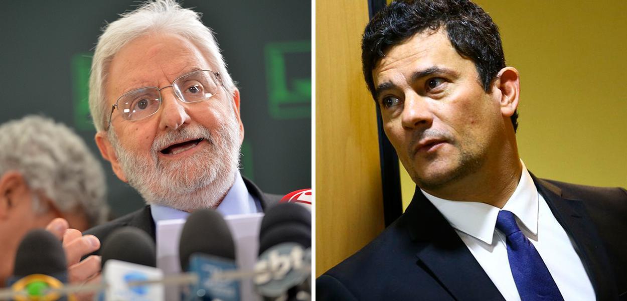 Ivan Valente e Sérgio Moro