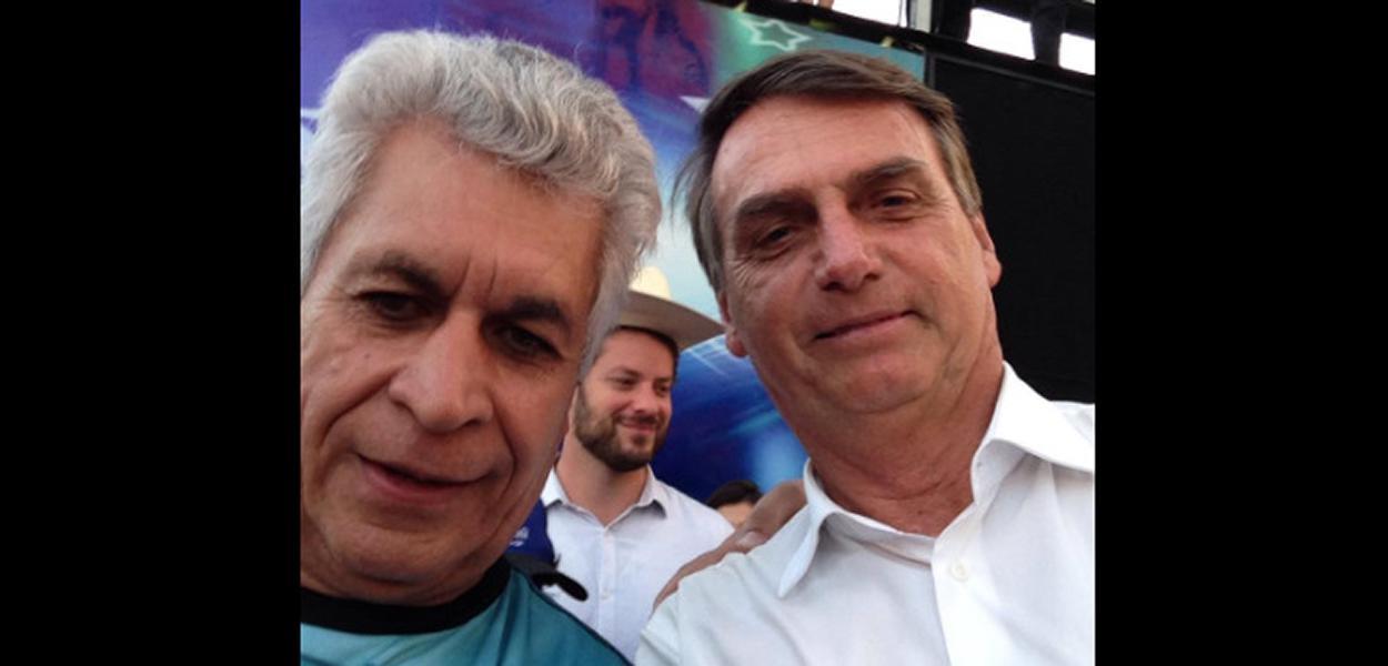 Publicitário Genival José da Silva e Jair Bolsonaro