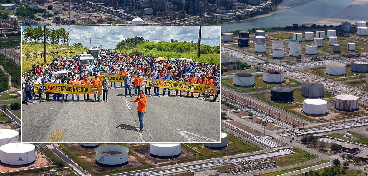 Petroleiros farão greve contra entreguismo de Jair Bolsonaro