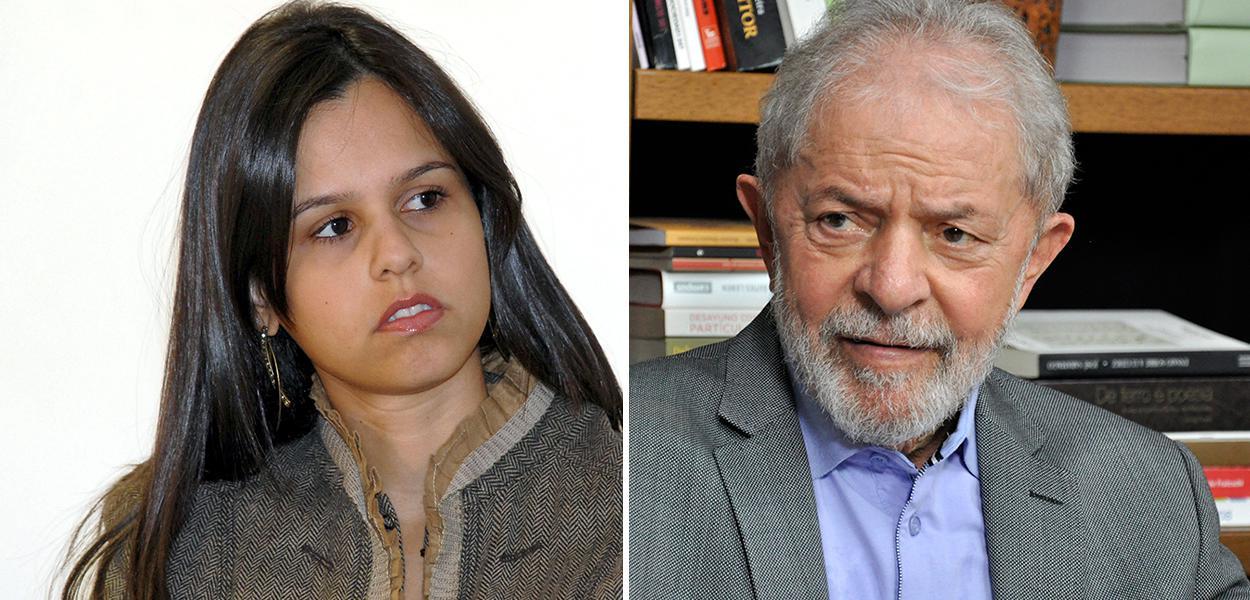 Procuradora Carolina Rezende e o ex-presidente Lula