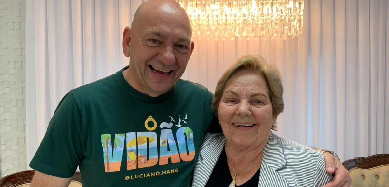 Luciano Hang e a mãe, Regina Modesti Hang