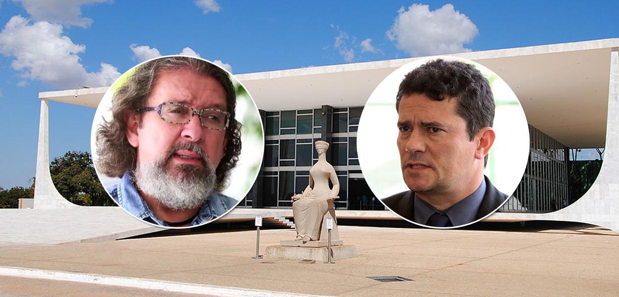 Antônio Carlos de Almeida Castro e Sergio Moro