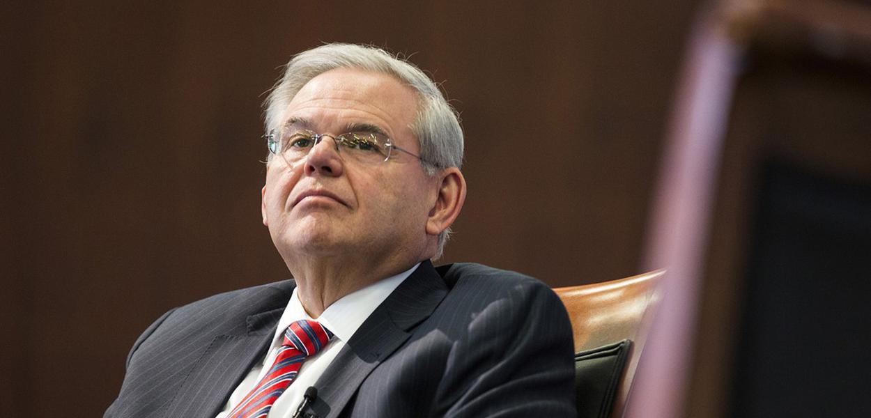 Senador democrata Robert Menendez