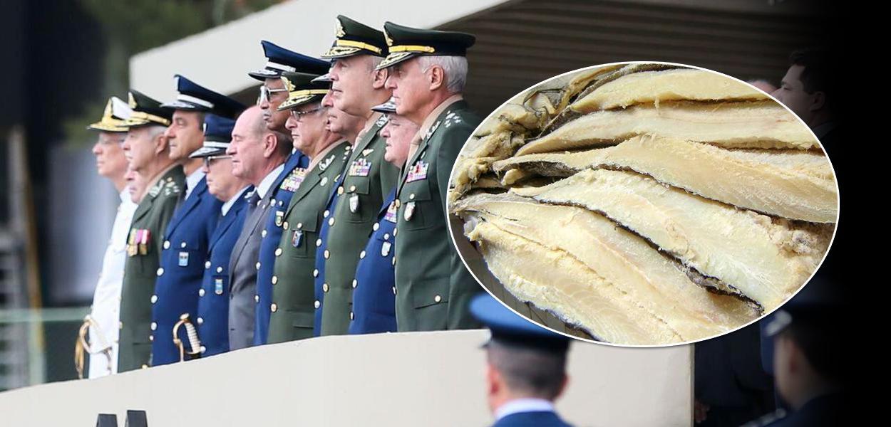 Os militares e o lombo de bacalhau