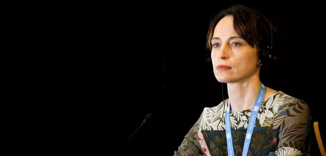 Alena Douhan, relatora especial da ONU sobre o impacto negativo das medidas coercitivas unilaterais nos direitos humanos